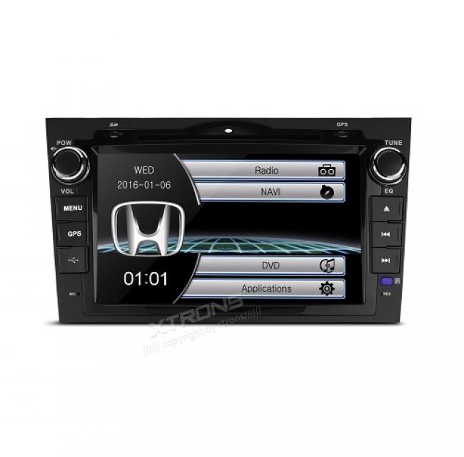 Мултимедия двоен дин за Honda CRV 2007- 2011 PF81CVHS, GPS, DVD,WinCE, 8 инча