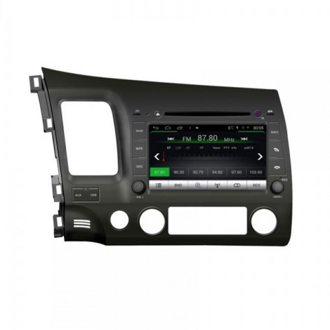 Мултимедия за Honda Civic (06-11) M044G-CIV  Android, GPS, DVD, 8 инча