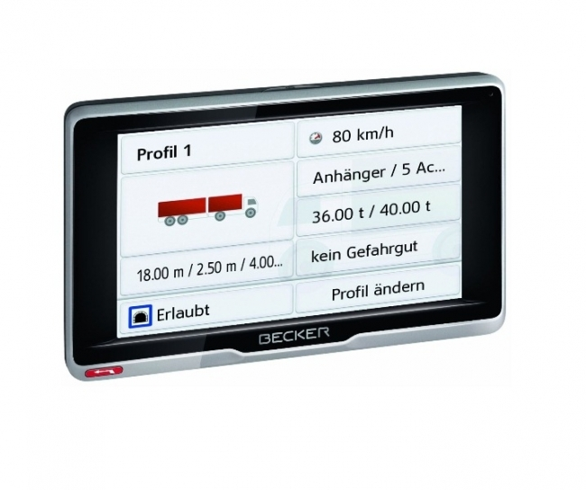 GPS навигация за камион Becker Transit 5 BG+EU
