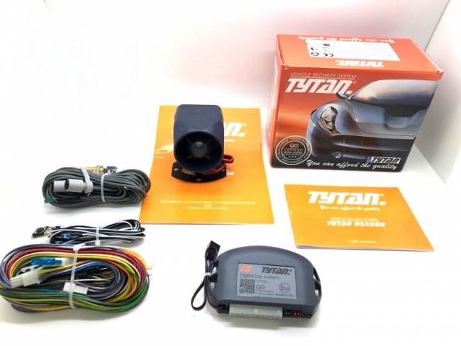 Автоаларма - аларма за кола TYTAN DS300 R