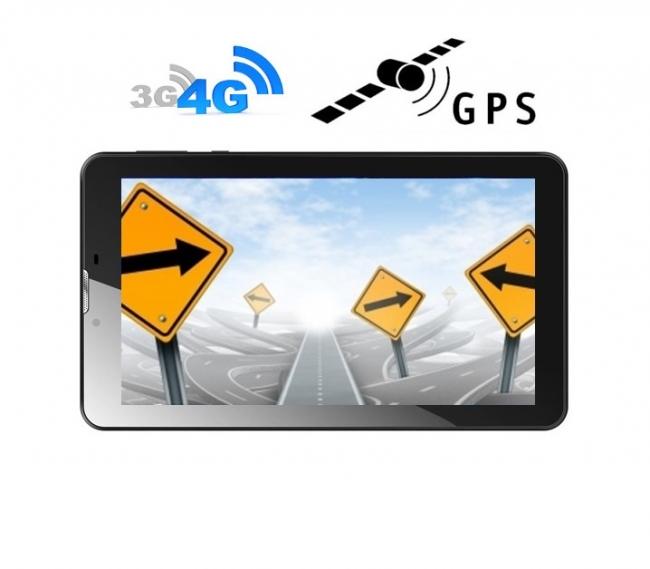 4G таблет GPS навигация с Android DIVA 7″, SIM, Quad Core, 1GB, 24GB