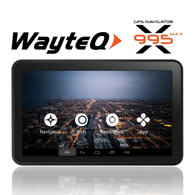 GPS навигация Wayteq x995 Max, 7 инча, Android, Sygic LIFETIME MAP UPDATE