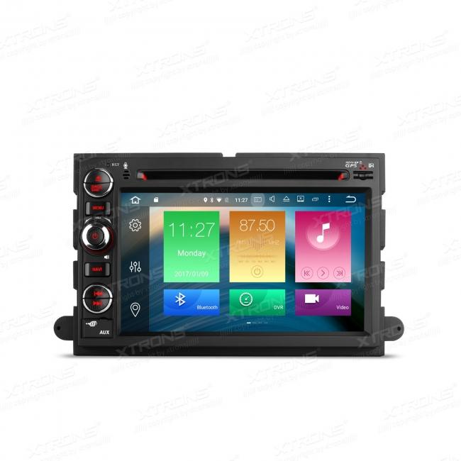 Навигация двоен дин за FORD с Android 6.0 PB76FFFAP, GPS, WiFi, 7 инча