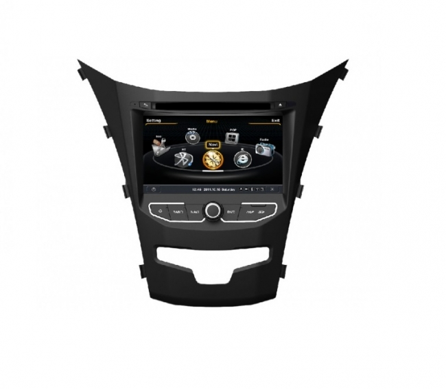 Мултимедия за SSANGYONG KORANDO(2013-2014) M355G-SY ANDROID, GPS, DVD, 7 инча