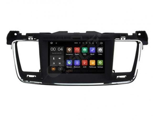 Навигация двоен дин за Peugeot 508 H5637G с Android, DVD, GPS, WiFi, 7инча