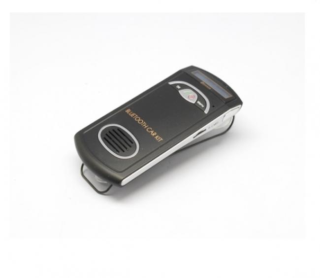 Соларно Bluetooth Car Kit хендсфри устройство, FM трансмитер модел YK-168N