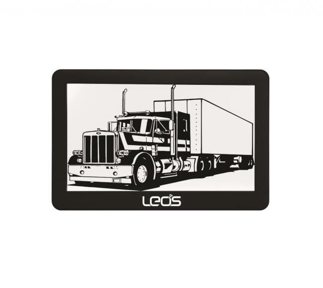Двуядрена навигация за камиони LEOS TRUCK MATE 7 инча, 2 програми, Сенник