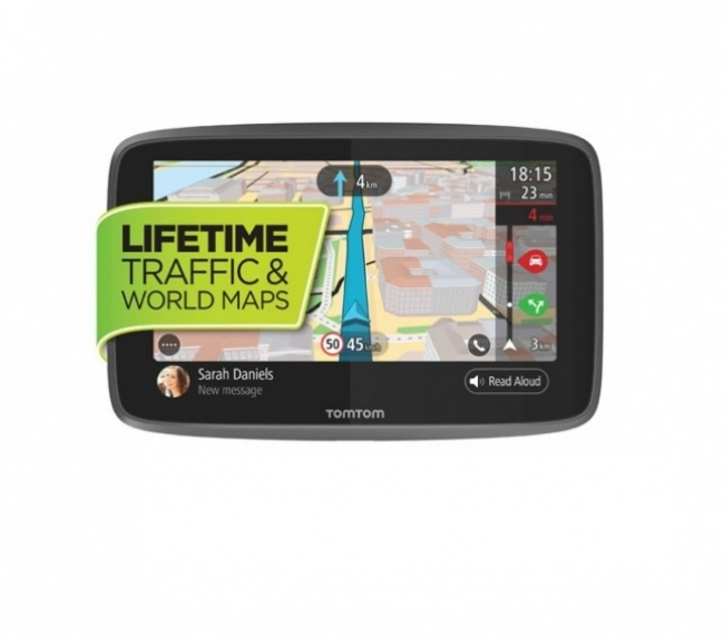 GPS навигация TOMTOM GO 620 WORLD с карти на цял свят и Wi-fi