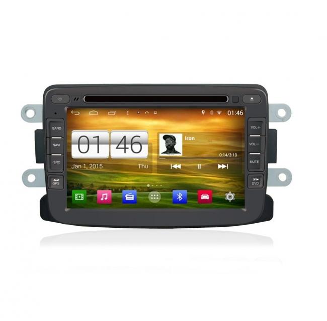 Навигация двоен дин за Dacia N RN04Ac Android GPS, DVD, 7 инча
