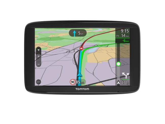 GPS навигация TomTom VIA 52 LM Европа -5 инча, Карти на цяла Европа