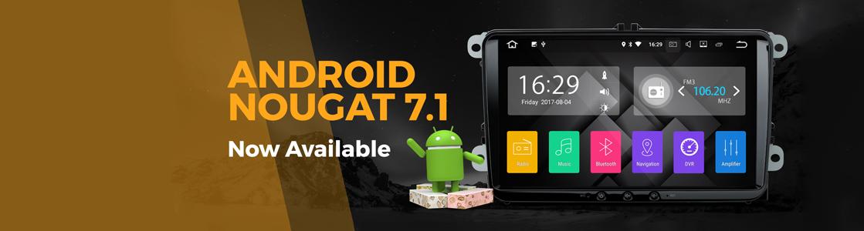 Мултимедия за кола с Android 7.1