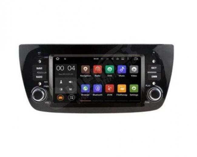 Навигация двоен дин за FIAT Doblo 2010 с Android 7.1 I5533G, GPS, DVD, 7 инча