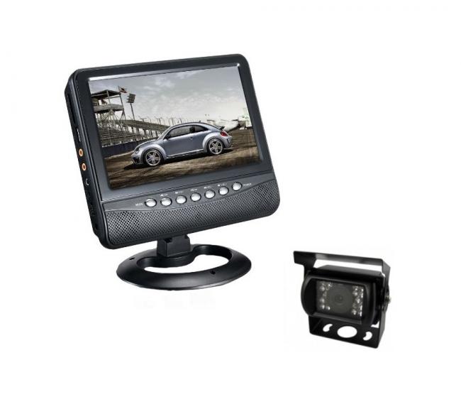 Комплект монитор 9 инча PNI NS911D + водоустойчива камера за паркиране