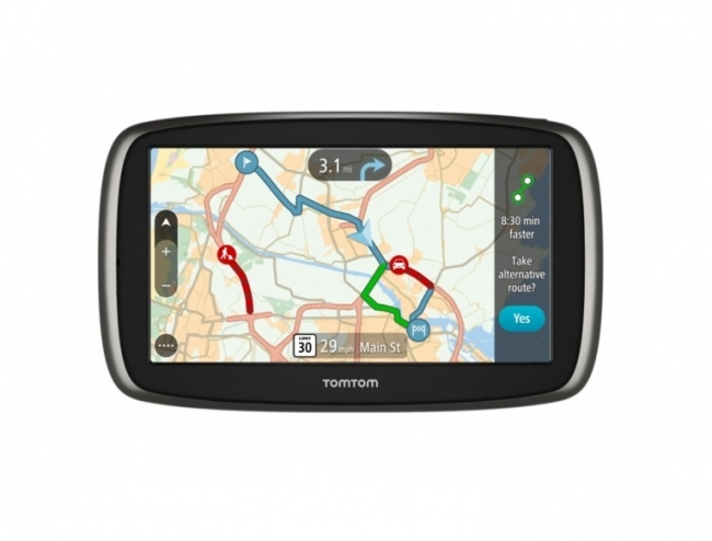gps tomtom go 61 6 gps. Black Bedroom Furniture Sets. Home Design Ideas