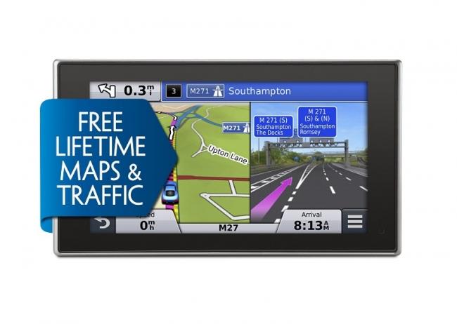 Втора употреба навигация Garmin nuvi 3597T - 5 инча, Трафик, Bluetooth