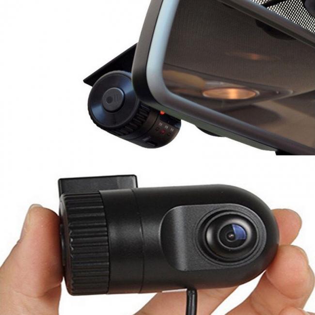 Мини DVR Видеорегистратор AT T500 съвместим с мултимедия + 16GB карта памет