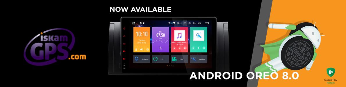 Мултимедийни навигации двоен дин с Android 8.0
