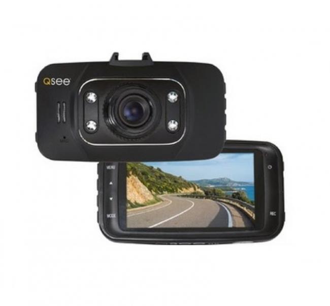 Видеорегистратор за кола Q-SEE 1080P с 8GB карта памет