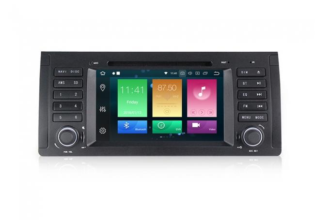 Навигация двоен дин за BMW E53 E39 с ANDROID 8.0 MKD-9965,GPS,WiFi, 4G, 7 инча