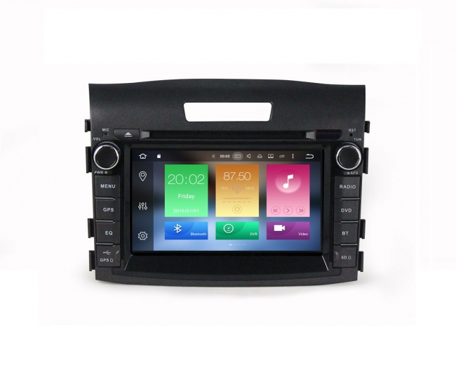 Навигация двоен дин за HONDA CRV(12-14) с Android 8.0 MKD-H711, DVD, WiFi, 4G, 7 инча