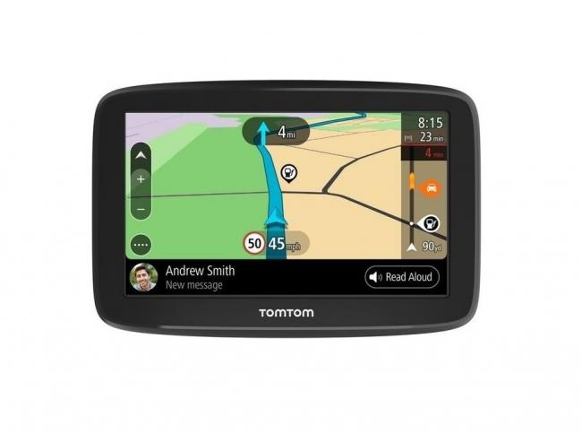 GPS навигация TOMTOM GO BASIC 5 инча с доживотна актуализация и Wi-fi