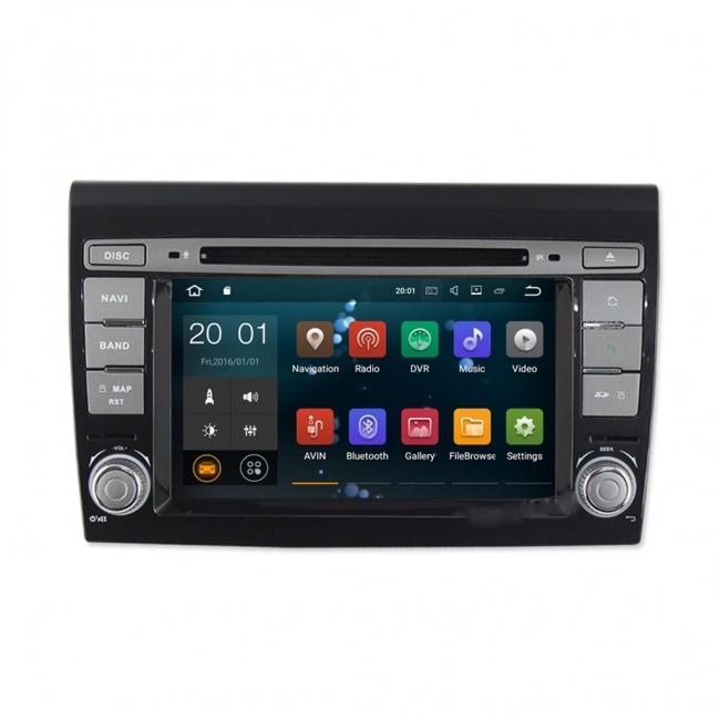 Навигация за Fiat Bravo 2007-2012 VS0707FB с Android 7.1, WiFi, DVD - 7 инча