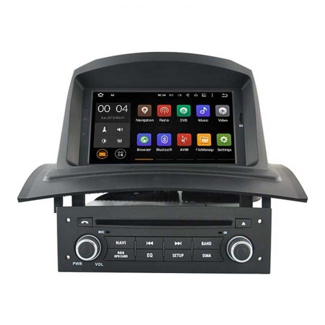 Навигация двоен дин за Renault Megane II с ANDROID 7.1, MKD-R709, GPS,WiFi, 7 инча
