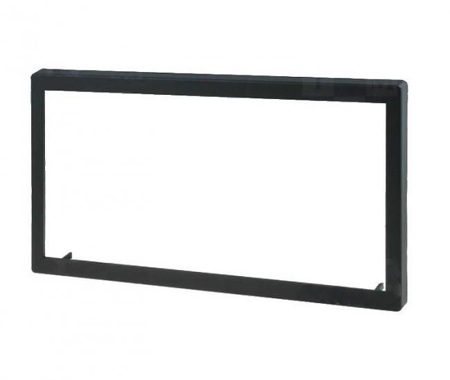 Универсална рамка за двоен дин с външни размери 118x188.5mm, отвор 98x173.5mm