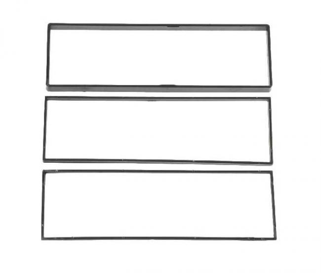Преден панел за единичен дин CITROEN C2, C3, Peugeot 1007, 3007 код:44924
