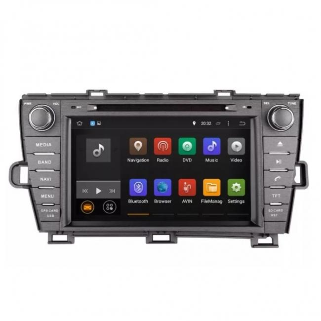 Навигация за Toyota Prius 2009-2017 VS0709TP с Android 7.1, WiFi - 7 инча