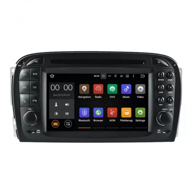 Навигация за Mercedes Benz SL R230 VS0707SL с Android 7.1, WiFi - 7 инча