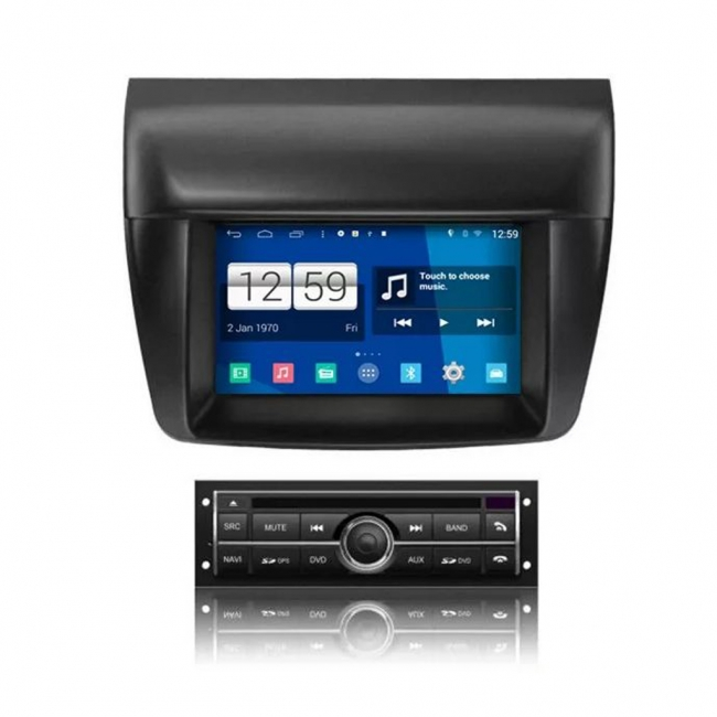 Навигация MITSUBISHI PAJERO, L200 VS0707ML с Android 7.1, WiFi - 7 инча