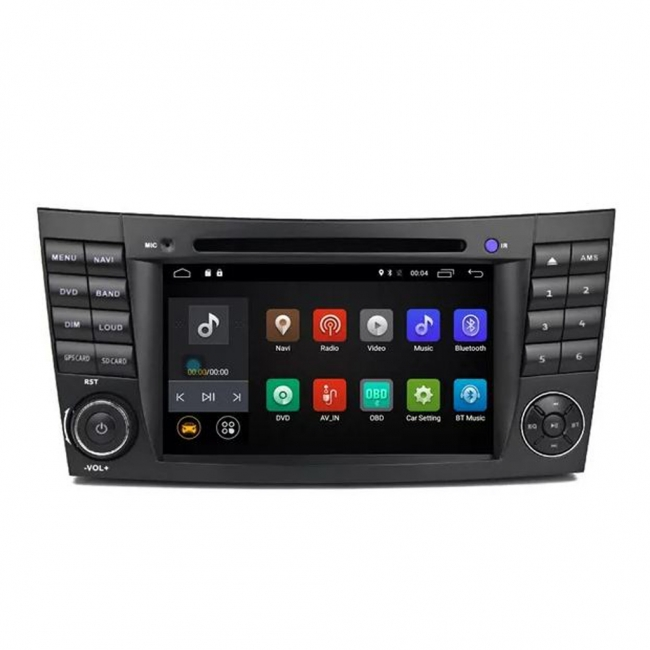 Навигация за Mercedes W209 W211 W219 W463 VS0707MBW с Android 7.1, WiFi - 7 инча