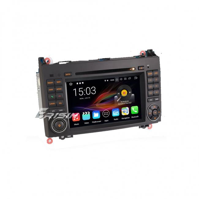 Навигация двоен дин за Mercedes Sprinter и др. с Android 8.0 ES8882B, GPS, WiFi, 7 инч