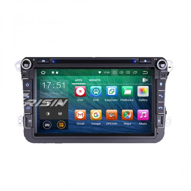 Навигация двоен дин за VW с Android 8.0 ES7815V, GPS, WiFi, 8 инча