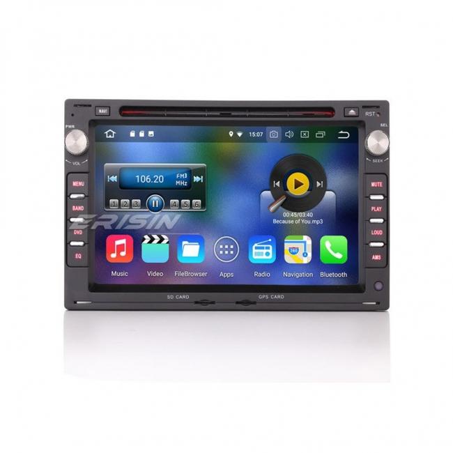 Навигация двоен дин за VW Golf4, Passat5 и др. с Android 8.0 ES8848V, GPS, WiFi, 7 инча