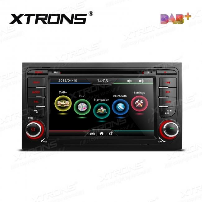 Навигация двоен дин за Audi A4 / S4 / RS4с WinCE PDAB71A4A, GPS, DVD, 7 инча