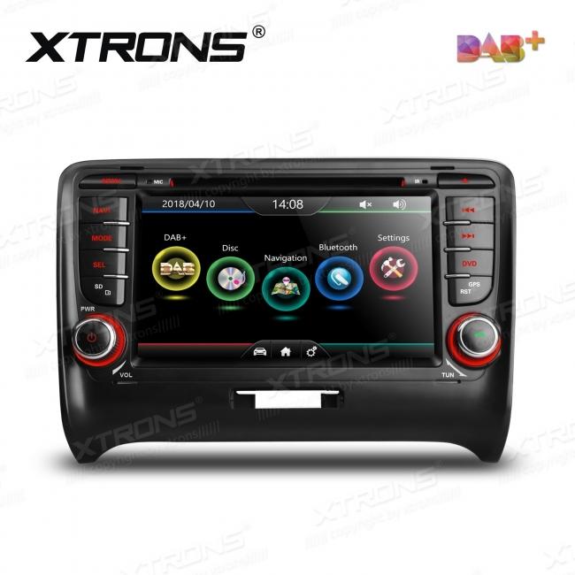 Навигация двоен дин за Audi TT MK2 с WinCE PDAB71TTA, GPS, DVD, 7 инча