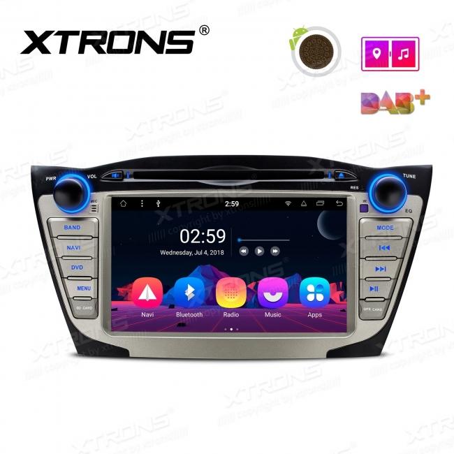 Навигация двоен дин за Hyundai с Android 8.1,PR7835H, WiFi, GPS, 7 инча