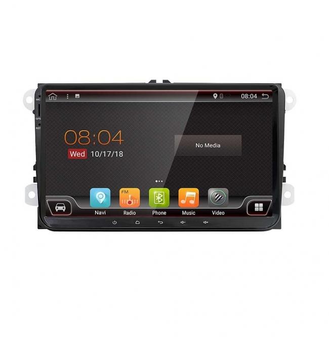 Навигация двоен дин за VW  PASSAT, GOLF с Android 8.1 4222H  GPS,WIFI 9 инча