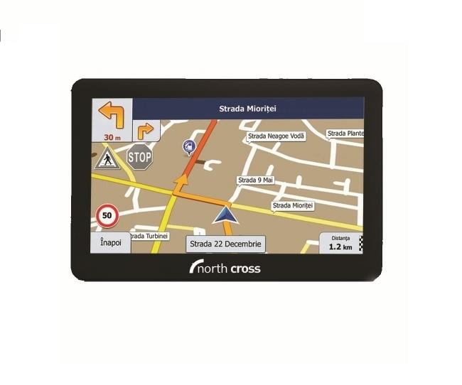 North Cross ES725FE GPS навигация за камион и кола - 7 инча, 256MB RAM, 8GB