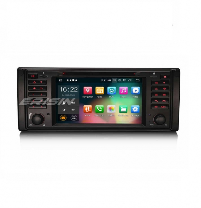 Навигация двоен дин за BMW E39  с Android 9.0 ES7939B, GPS, WiFi, 7 инча