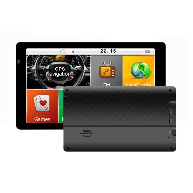 GPS навигация за камион LEOS G7 - 7 инча, двуядрен процесор, 256MB RAM, 8GB