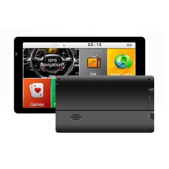 GPS навигация LEOS G7 - 7 инча, двуядрен процесор, 256MB RAM, 8GB