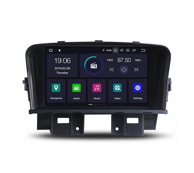 Двоен дин навигация за CHEVROLET Cruze (08-13) с Android 10 CH8860H GPS, WiFi,DVD, 8 инча