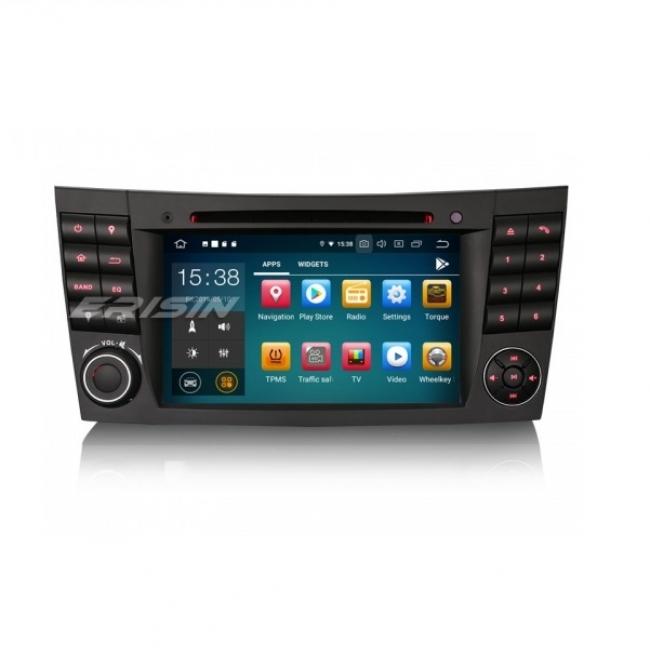 Навигация двоен дин за Mercedes W211 W219 W463 с Android 9.0 ES7980E, GPS, WiFi, 7 инча