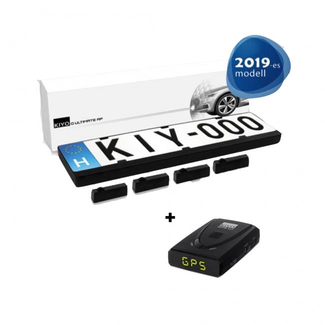 KIYO D ULTIMATE Advanced Protection 4 сензора + радар Kiyo U1 GPS
