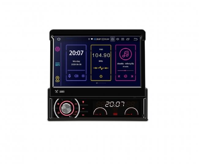 """Навигация универсален единичен дин DIB701 GPS, ANDROID 10, WiFi, 7"""""""