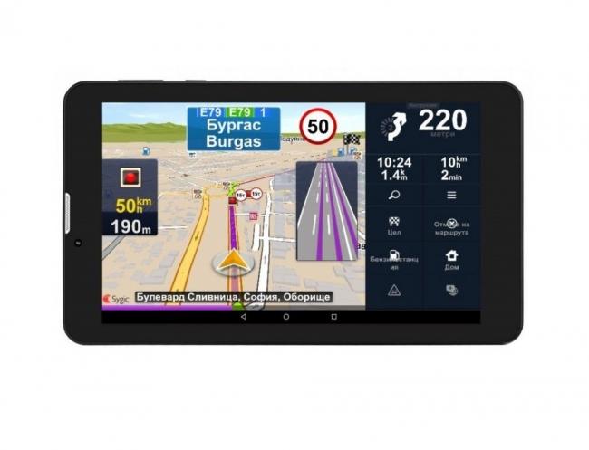 GPS навигация за камион Prestigio GeoVision Truck EU, SYGIC, 7 инча, 16GB, 1GB RAM