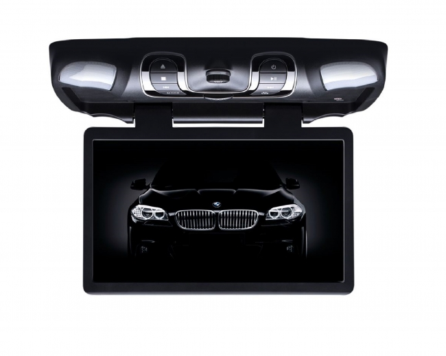 Монитор за таван CR1505Black DVD, USB, SD слот, 15.6 инча